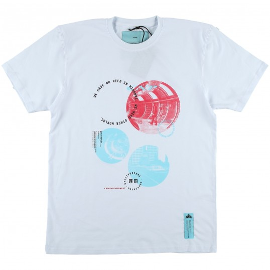 T-Shirt 'Solaris' White