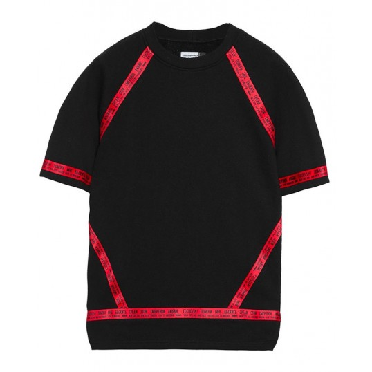 'Division' T-Shirt Black-Red