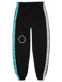 'The Wall' Men Track Pants Black