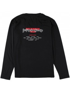 Crime X Punishment Long Sleeve 'Corrosion' Black