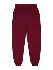 'The Wall' Women Track Pants Burgundy