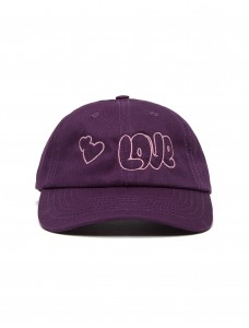 Basecap 'Love' Purple