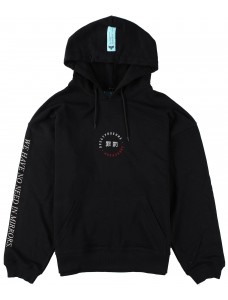 Crime X Punishment Hoodie 'Solaris' Black