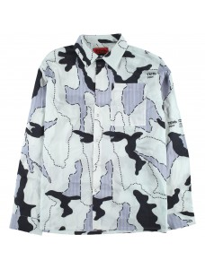 Graphic Camouflage Shirt